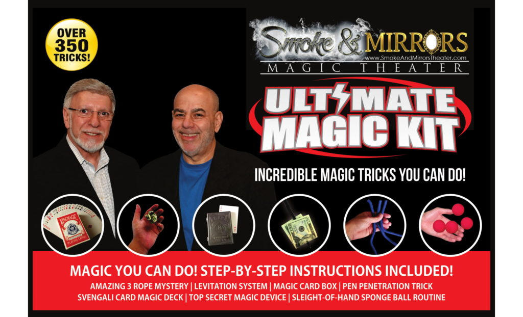 Ultimate Magic Kit Smoke & Mirrors-1