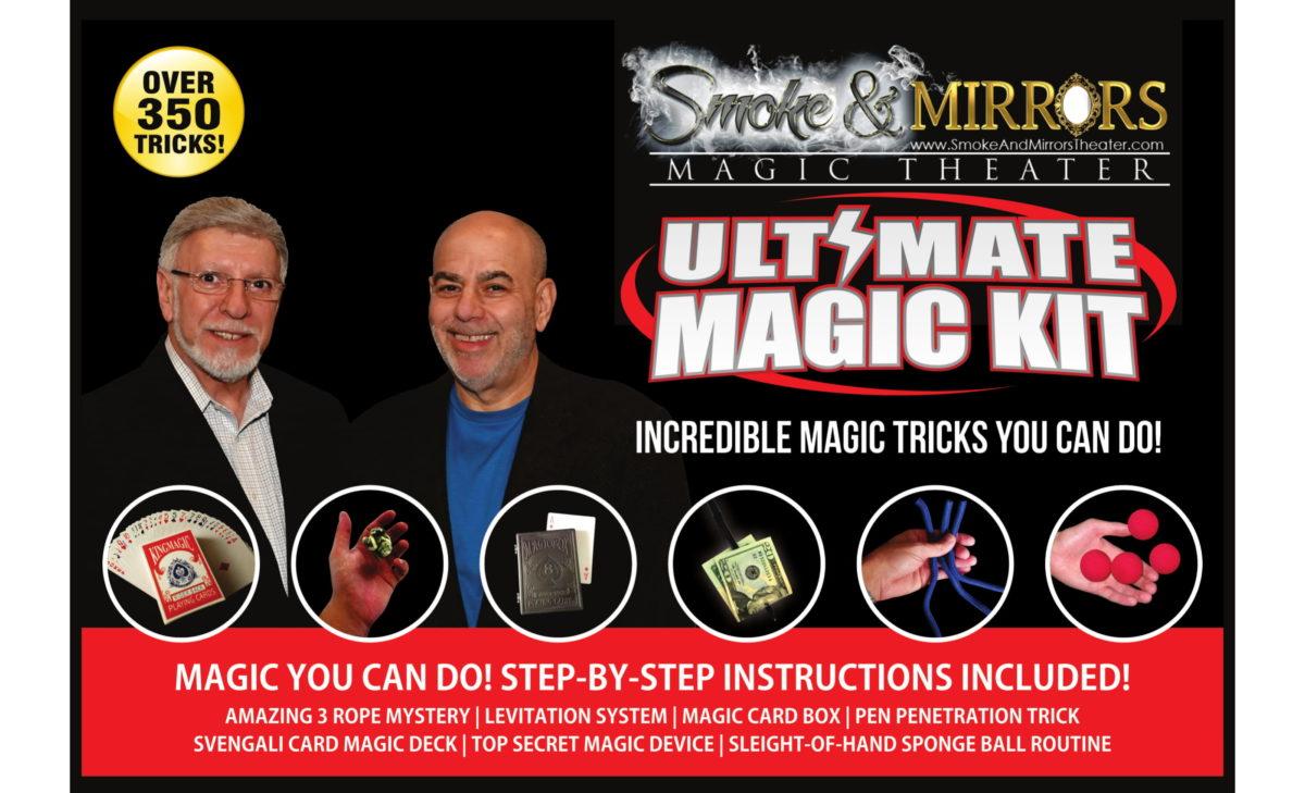 Ultimate Magic Kit Smoke & Mirrors-1